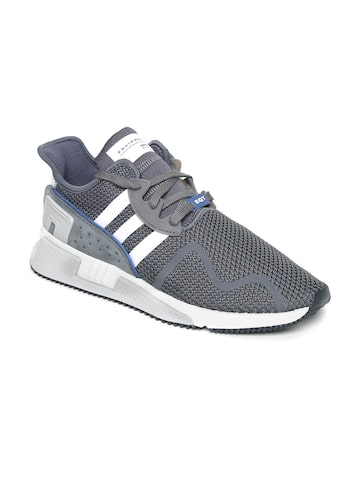 Adidas Originals Men Grey EQT CUSHION ADV Sneakers Adidas Originals Casual Shoes at myntra