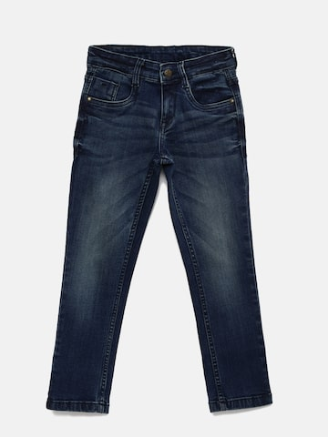 Flying Machine Boys Blue Slim Fit Mid-Rise Clean Look Jeans Flying Machine Jeans at myntra