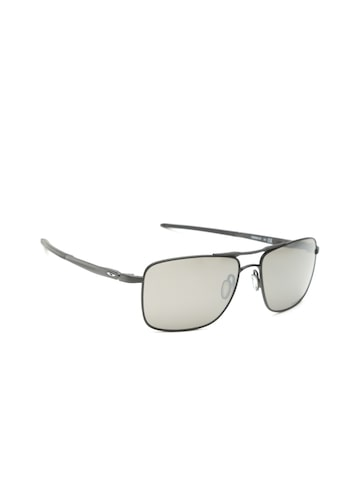 OAKLEY Men Polarised & Mirrored Rectangle Sunglasses 0OO603860380157 OAKLEY Sunglasses at myntra