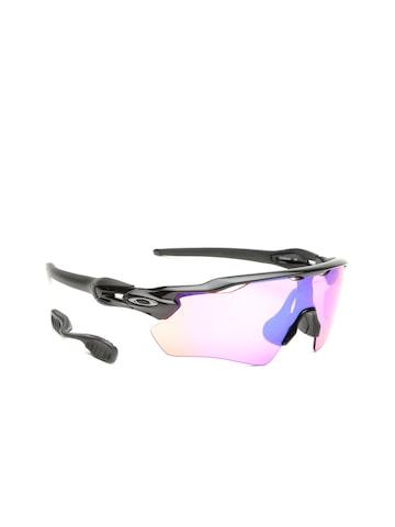 OAKLEY Men Mirrored Sports Sunglasses 0OO920892080438 OAKLEY Sunglasses at myntra