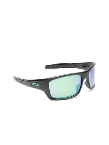 OAKLEY Men Mirrored Rectangle Sunglasses 0OO926392634563-92634563 OAKLEY Sunglasses at myntra