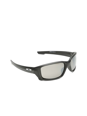 OAKLEY Men Mirrored Rectangle Sunglasses 0OO933193311458 OAKLEY Sunglasses at myntra