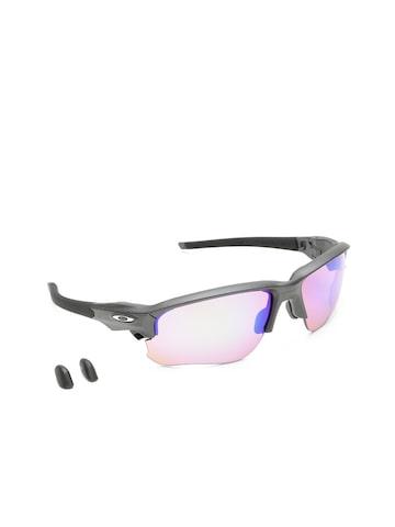 OAKLEY Men Mirrored Sports Sunglasses 0OO936493640467 OAKLEY Sunglasses at myntra
