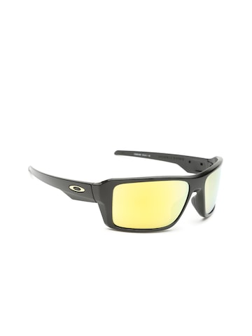 OAKLEY Men Mirrored Rectangle Sunglasses 0OO938093800266 OAKLEY Sunglasses at myntra