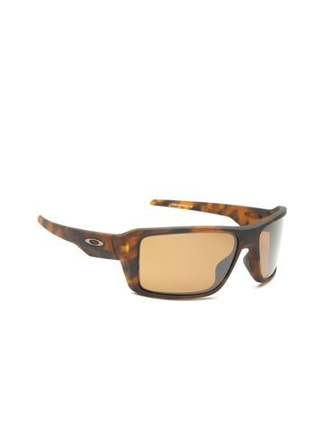 OAKLEY Men Polarised & Mirrored Rectangle Sunglasses 0OO938093800766 OAKLEY Sunglasses at myntra