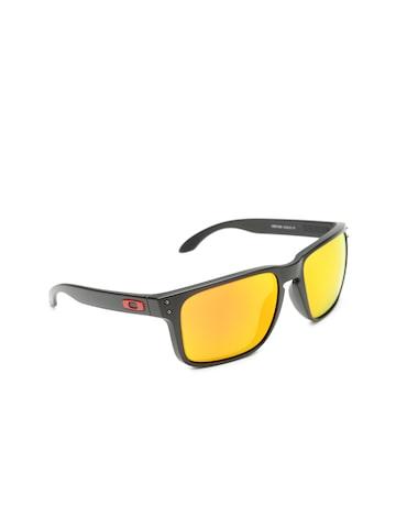 OAKLEY Men Mirrored Rectangle Sunglasses 0OO941794170459 OAKLEY Sunglasses at myntra