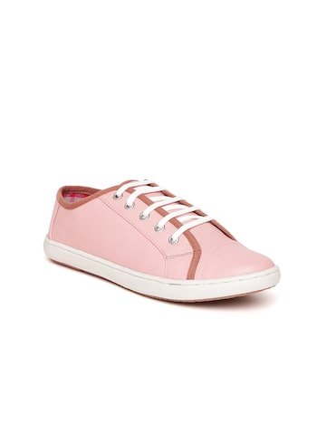 Carlton London Women Pink Sneakers Carlton London Casual Shoes at myntra
