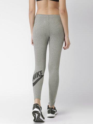 Nike Grey AS W NSW Tights Nike Tights at myntra