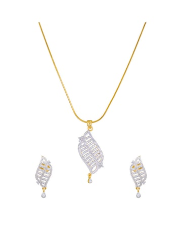 Sia Party Wear Gold-Toned & Silver-Toned Studded Jewellery Set Sia Art Jewellery Jewellery Set at myntra