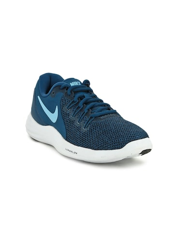 Nike Women Blue LUNAR APPARENT Running Shoes Nike Sports Shoes at myntra