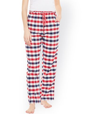 Oxolloxo Multicoloured Checked Pyjamas W17210WNW004 Oxolloxo Pyjamas at myntra