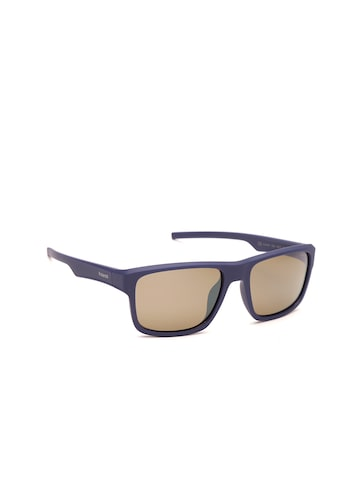 Polaroid Men Polarised Mirrored Wayfarer Sunglasses 3018/S JC9 55IG Polaroid Sunglasses at myntra