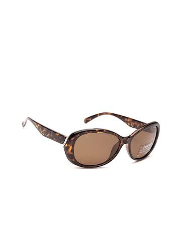 Polaroid Women Rectangle Sunglasses PLD 4024/S V08 58IG Polaroid Sunglasses at myntra