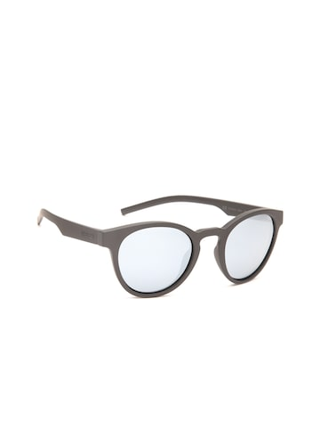 Polaroid Women Mirrored Oval Sunglasses 7021/S 807 49EX Polaroid Sunglasses at myntra