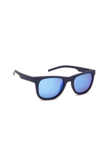 Polaroid Unisex Mirrored Polarised Wayfarer Sunglasses 7020/S PJP 525X Polaroid Sunglasses at myntra