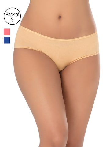 PrettySecrets Women Pack of 3 Hipster Briefs VP010 PrettySecrets Briefs at myntra
