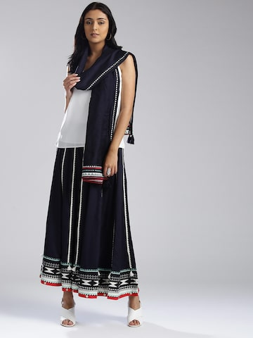 W Navy Blue Dupatta W Dupatta at myntra