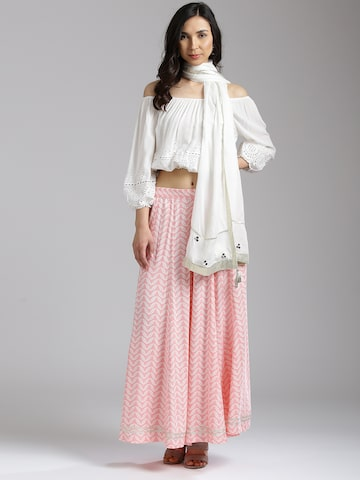 W White Solid Dupatta W Dupatta at myntra