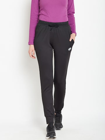 Lotto Black INDY IV RIB PL Joggers Lotto Track Pants at myntra