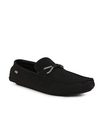 Arrow Men Black Astle Loafers Arrow Casual Shoes at myntra