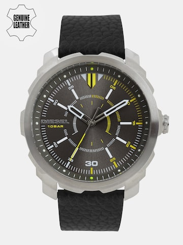 DIESEL Men Gunmetal-Toned Analogue Watch DZ1739 DIESEL Watches at myntra
