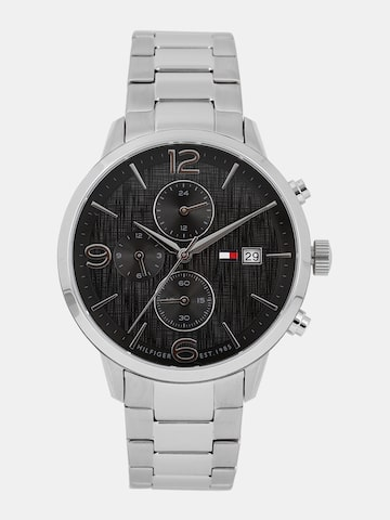 Tommy Hilfiger Men Black Analogue Watch Tommy Hilfiger Watches at myntra