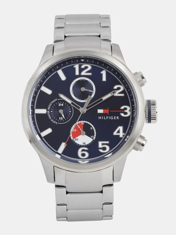 Tommy Hilfiger Men Navy Blue Multifunction Analogue Watch NTH1791242_BBD Tommy Hilfiger Watches at myntra