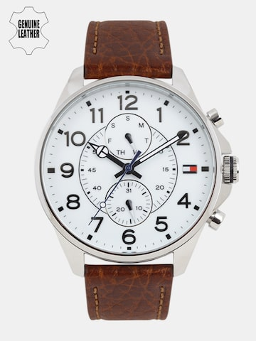 Tommy Hilfiger Men White Analogue Watch NTH1791274 Tommy Hilfiger Watches at myntra