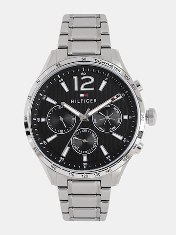 Tommy Hilfiger Men Black Analogue Watch NTH1791469 Tommy Hilfiger Watches at myntra