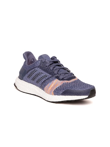 Adidas Women Blue Ultraboost ST Running Shoes Adidas Sports Shoes at myntra