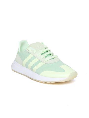 Adidas Originals Women Green FLB Runner Sneakers Adidas Originals Casual Shoes at myntra