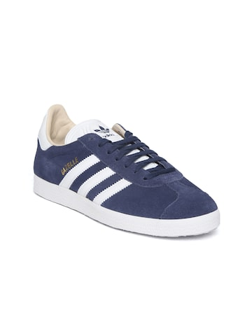 Adidas Originals Women Navy Gazelle Sneakers Adidas Originals Casual Shoes at myntra