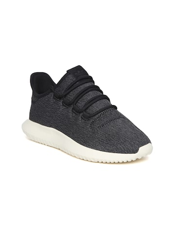 Adidas Originals Women Charcoal Grey Tubular Shadow Sneakers Adidas Originals Casual Shoes at myntra