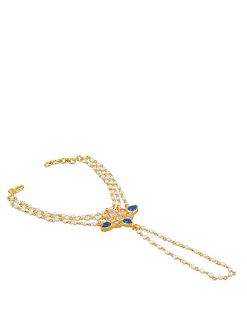 Sia Art Jewellery Gold-Plated Ring Bracelet Sia Art Jewellery Bracelet at myntra