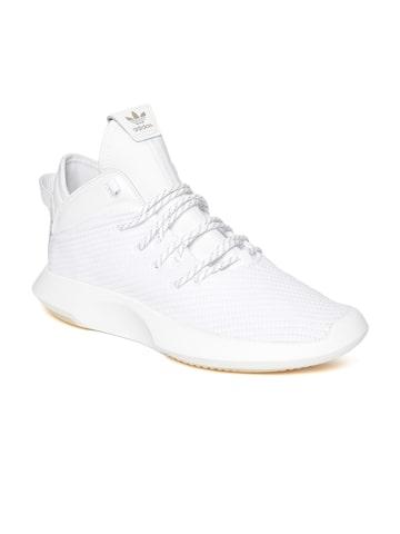 Adidas Originals Men White Crazy 1 ADV Woven-Design Sneakers Adidas Originals Casual Shoes at myntra