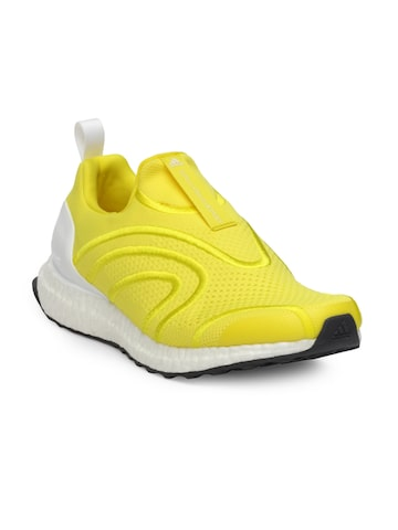 Stella McCartney by Adidas Women Yellow Ultraboost Uncaged Running Shoes Adidas Sports Shoes at myntra