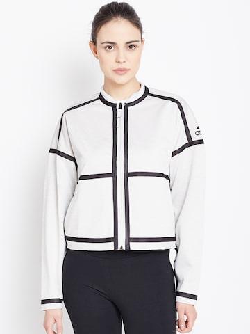 Adidas Off-White ZNE SO Reversible Sporty Jacket Adidas Jackets at myntra