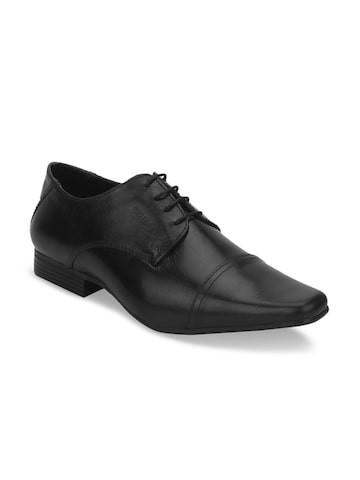 Red Tape Men Black Formal Derbys Red Tape Formal Shoes at myntra
