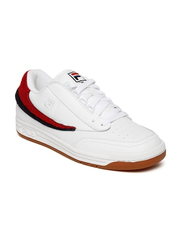 FILA Men White Original Tennis Varsity Sneakers FILA Casual Shoes at myntra