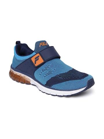 FILA Men Blue HYPER BLOW PLUS Energized Running Shoes FILA Sports Shoes at myntra