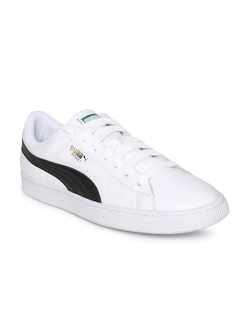 Puma Men White Basket Classic LFS Sneakers Puma Casual Shoes at myntra