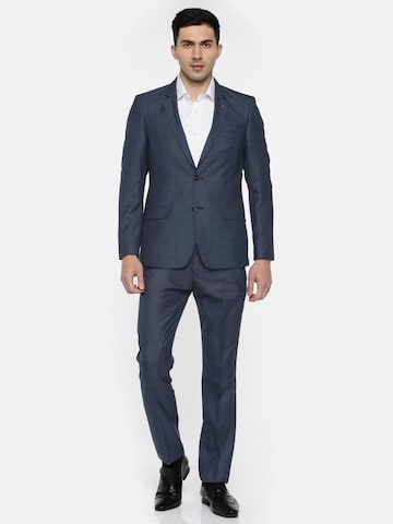 Arrow Men Blue Body Tailored Fit Formal Suit Arrow Suits at myntra