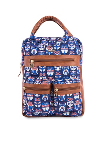 Chumbak Women Blue Backpack Chumbak Backpacks at myntra