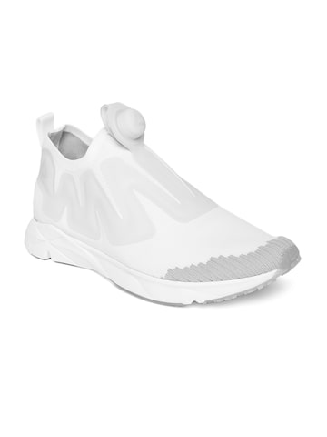 Reebok Unisex White Pump Supreme ULTK Running Shoes Reebok Sports Shoes at myntra