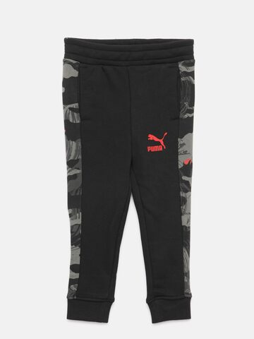 Puma Boys Black & Grey Classic T7 AOP Joggers with Printed Detail Puma Track Pants at myntra