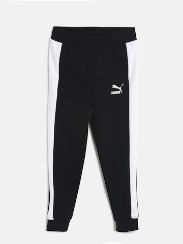 41416d316052 Puma Boys Black Solid Classic T7 Joggers Puma Track Pants from myntra in  Track Pants