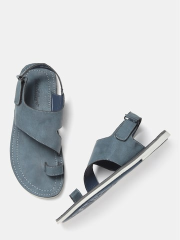 Roadster Men Blue Comfort Sandals Roadster Sandals at myntra
