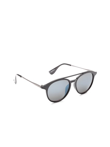 DressBerry Women Mirrored Oval Sunglasses SUN04904 DressBerry Sunglasses at myntra