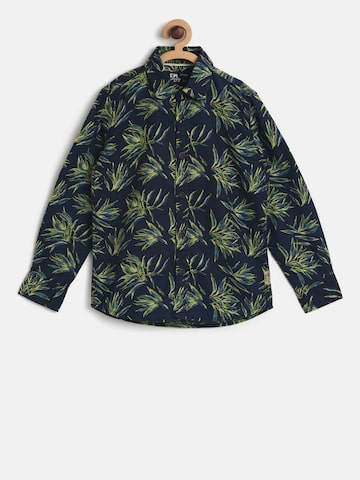 Flying Machine Boys Navy Printed Casual Shirt Flying Machine Shirts at myntra