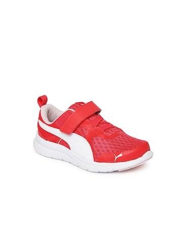 Puma Girls Pink Flex Essential V Pre School Sneakers Puma Casual Shoes at myntra